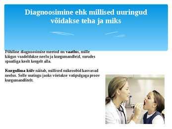 nina limaskesta põletik