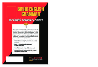 Saddleback basic english grammar book 1 answer key pdf download