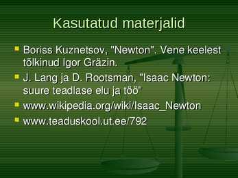 newtoni seadus