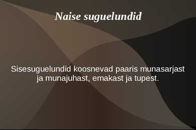 naise suguelundid
