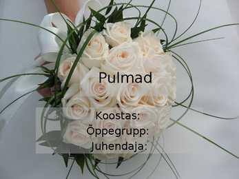 eesti pulmamängud