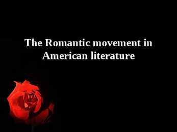 the romantic movement in english literature The romantic movement including the romantic and oral accounts of traditional celtic literature thomas percy's reliques of ancient english.